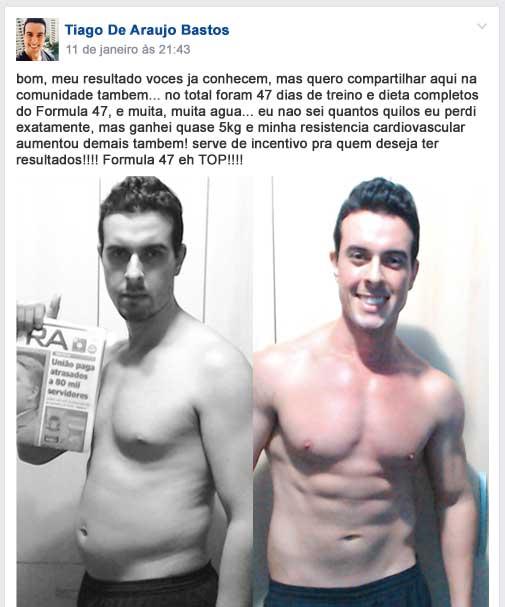 Tiago Bastos Fórmula 47 Funciona