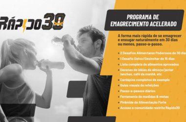 Rápido 30: Conheça o Novo Programa de Emagrecimento Acelerado Criado Por Rodrigo Polesso
